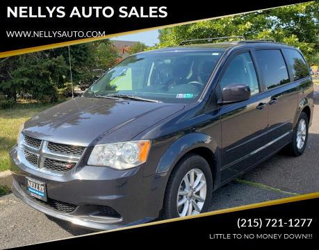 2014 Dodge Grand Caravan for sale at NELLYS AUTO SALES in Souderton PA
