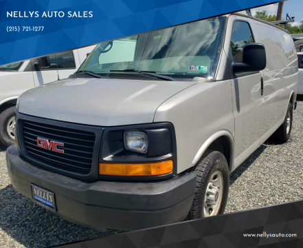 2009 GMC Savana Cargo for sale at NELLYS AUTO SALES in Souderton PA
