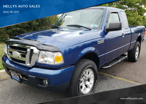 2007 Ford Ranger for sale at NELLYS AUTO SALES in Souderton PA