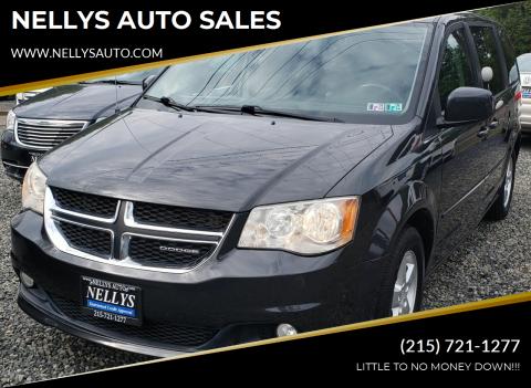 2012 Dodge Grand Caravan for sale at NELLYS AUTO SALES in Souderton PA