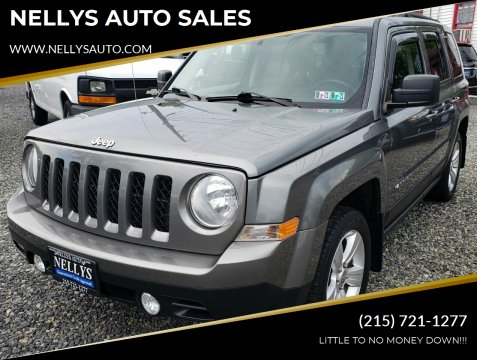 2012 Jeep Patriot for sale at NELLYS AUTO SALES in Souderton PA