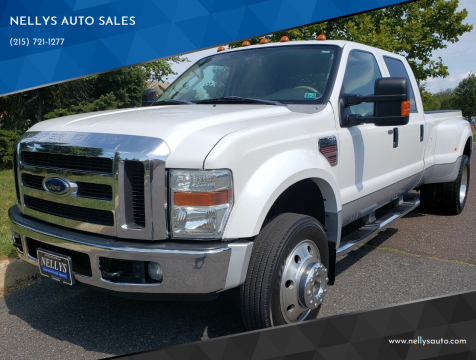 2008 Ford F-450 Super Duty for sale at NELLYS AUTO SALES in Souderton PA