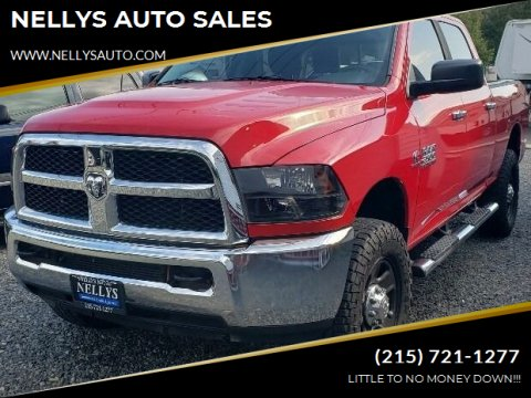 2013 RAM Ram Pickup 2500 for sale at NELLYS AUTO SALES in Souderton PA