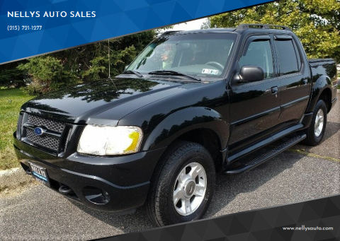 2004 Ford Explorer Sport Trac for sale at NELLYS AUTO SALES in Souderton PA