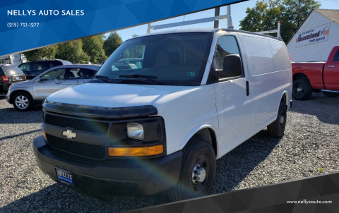 2008 Chevrolet Express Cargo for sale at NELLYS AUTO SALES in Souderton PA