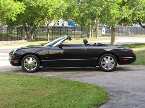 Used Ford Thunderbird For Sale Tampa, FL - CarGurus