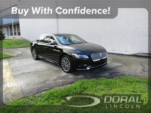 2019 Lincoln Continental for sale in Doral, FL