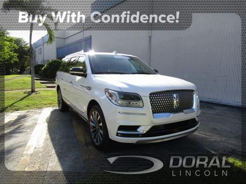 2019 Lincoln Navigator L for sale in Doral, FL