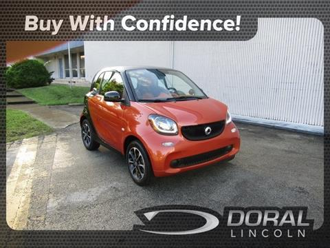 2016 Smart fortwo for sale in Doral, FL