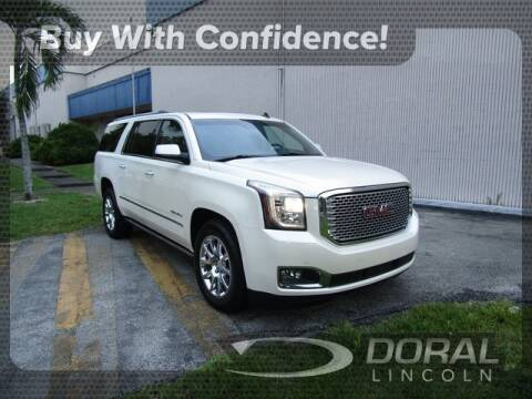 2015 GMC Yukon XL for sale in Doral, FL