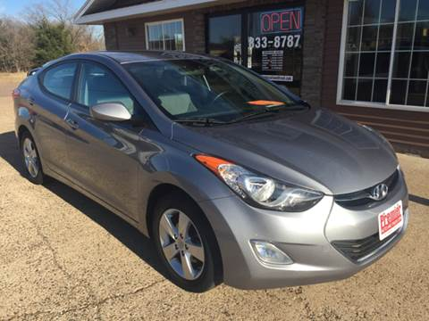 2013 Hyundai Elantra for sale at Premier Auto & Truck in Chippewa Falls WI