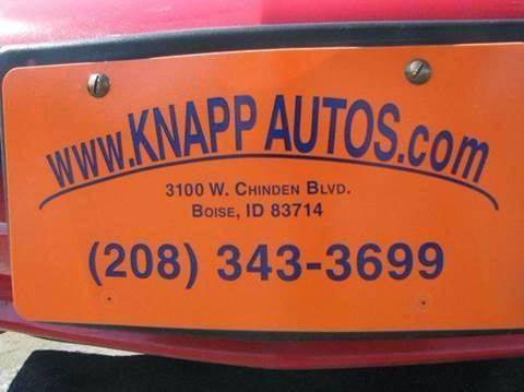 2007 Toyota RAV4 for sale at KNAPP AUTO in Lost River  (Moore) ID