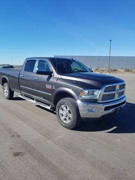 2016 RAM Ram Pickup 3500 Laramie for sale at KNAPP AUTO in Meridian ID