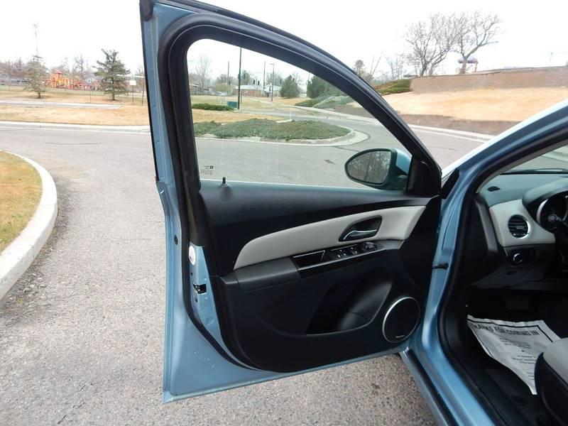 2012 Chevrolet Cruze LT 4dr Sedan w/1LT - Thornton CO