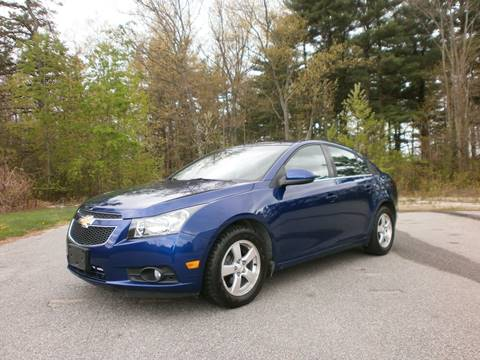 2012 Chevrolet Cruze for sale at Leavitt Brothers Auto in Hooksett NH
