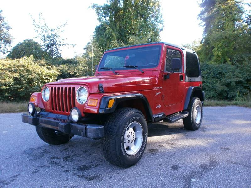 2002 Jeep Wrangler for sale at Leavitt Brothers Auto in Hooksett NH