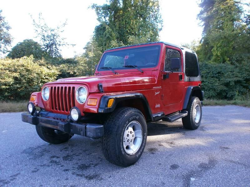Wonderful 2002 Jeep Wrangler For Sale At Leavitt Brothers Auto In Hooksett NH