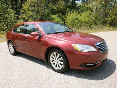 2012 Chrysler 200 for sale at Leavitt Brothers Auto in Hooksett NH