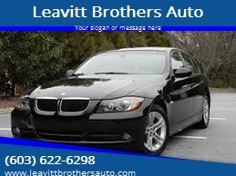 2008 BMW 3 Series for sale at Leavitt Brothers Auto in Hooksett NH