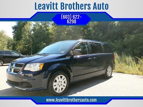 2015 Dodge Grand Caravan for sale at Leavitt Brothers Auto in Hooksett NH