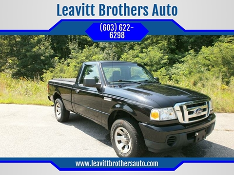 2008 Ford Ranger for sale at Leavitt Brothers Auto in Hooksett NH