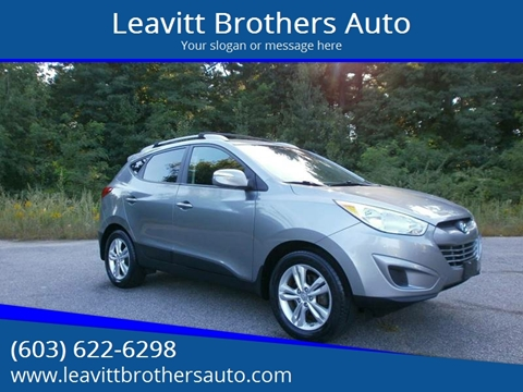 2012 Hyundai Tucson for sale at Leavitt Brothers Auto in Hooksett NH