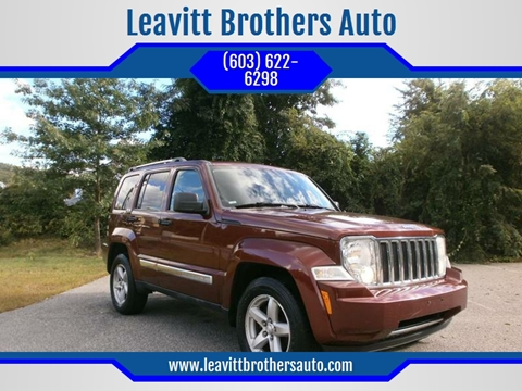 2008 Jeep Liberty for sale at Leavitt Brothers Auto in Hooksett NH