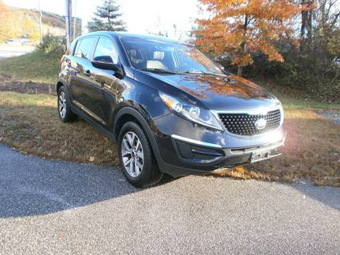 2016 Kia Sportage for sale at Leavitt Brothers Auto in Hooksett NH