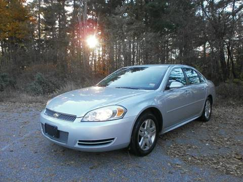 2012 Chevrolet Impala for sale at Leavitt Brothers Auto in Hooksett NH