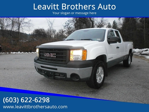 2009 GMC Sierra 1500 for sale at Leavitt Brothers Auto in Hooksett NH