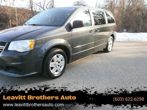 2011 Dodge Grand Caravan for sale at Leavitt Brothers Auto in Hooksett NH