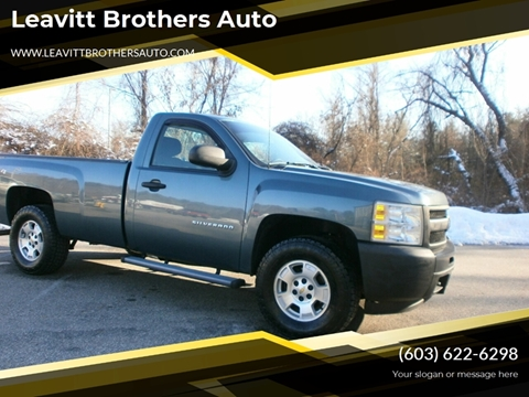 2011 Chevrolet Silverado 1500 for sale at Leavitt Brothers Auto in Hooksett NH