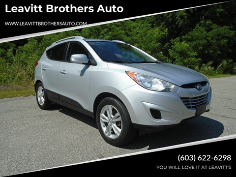 2010 Hyundai Tucson for sale at Leavitt Brothers Auto in Hooksett NH
