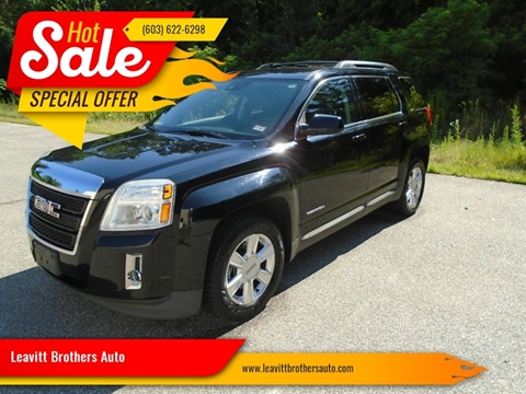 2013 GMC Terrain for sale at Leavitt Brothers Auto in Hooksett NH