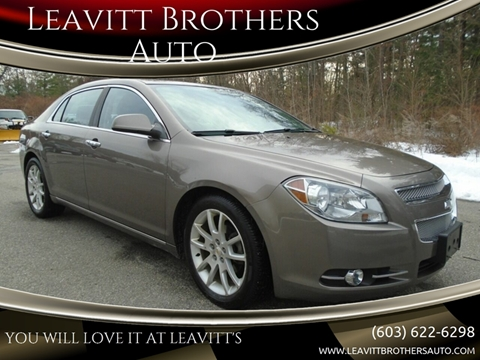 2011 Chevrolet Malibu for sale at Leavitt Brothers Auto in Hooksett NH
