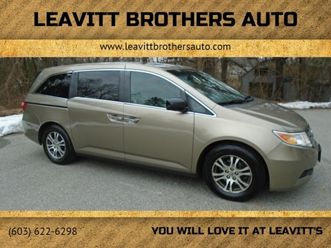 2011 Honda Odyssey for sale at Leavitt Brothers Auto in Hooksett NH