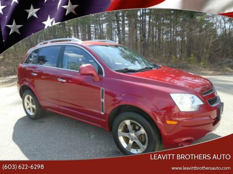 2012 Chevrolet Captiva Sport for sale at Leavitt Brothers Auto in Hooksett NH