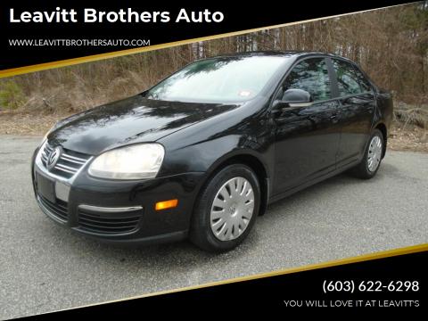 2008 Volkswagen Jetta for sale at Leavitt Brothers Auto in Hooksett NH