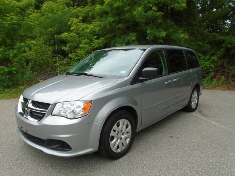 2016 Dodge Grand Caravan for sale at Leavitt Brothers Auto in Hooksett NH