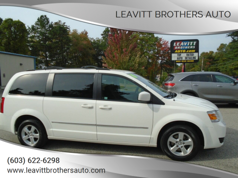 2010 Dodge Grand Caravan for sale at Leavitt Brothers Auto in Hooksett NH