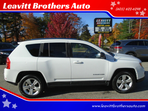 2011 Jeep Compass for sale at Leavitt Brothers Auto in Hooksett NH
