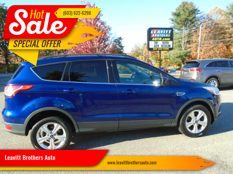 2013 Ford Escape for sale at Leavitt Brothers Auto in Hooksett NH