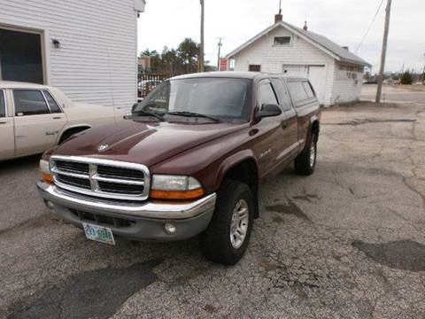 2002 Dodge Dakota for sale at Leavitt Brothers Auto in Hooksett NH