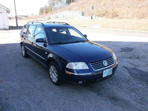 2003 Volkswagen Passat for sale at Leavitt Brothers Auto in Hooksett NH