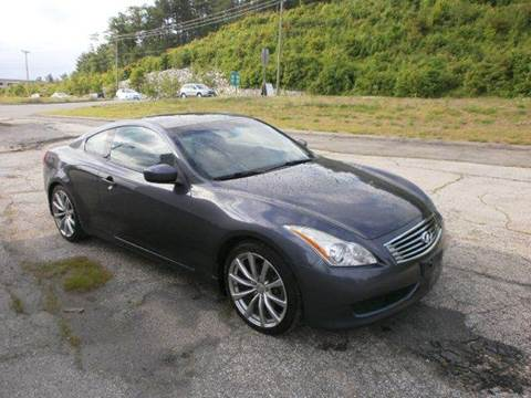 2008 Infiniti G37 for sale at Leavitt Brothers Auto in Hooksett NH
