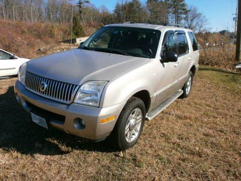 2003 Mercury Mountaineer for sale at Leavitt Brothers Auto in Hooksett NH