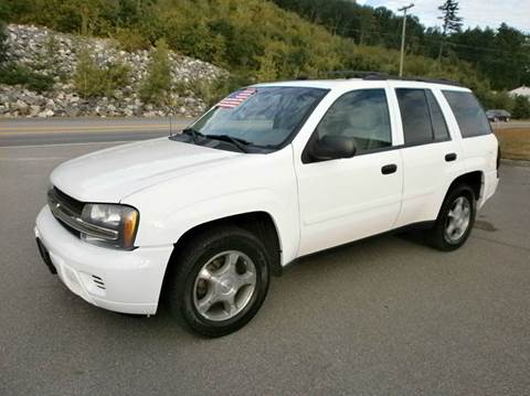 2008 Chevrolet TrailBlazer for sale at Leavitt Brothers Auto in Hooksett NH