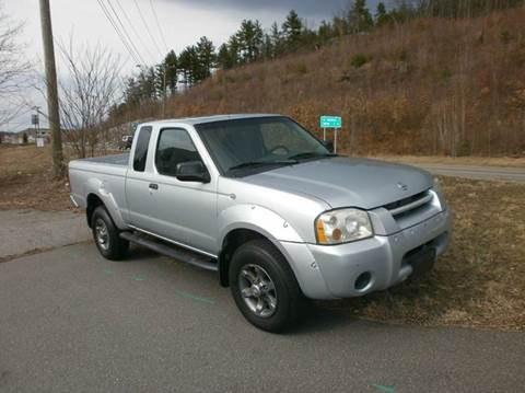 2002 Nissan Frontier for sale at Leavitt Brothers Auto in Hooksett NH