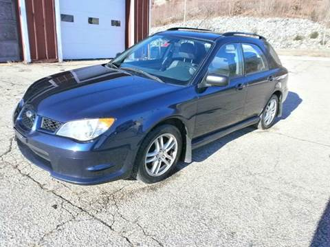 2006 Subaru Impreza for sale at Leavitt Brothers Auto in Hooksett NH