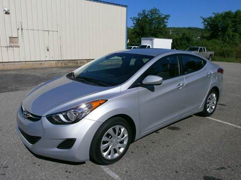 2012 Hyundai Elantra for sale at Leavitt Brothers Auto in Hooksett NH